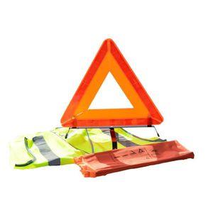 kit gilet de s curit et triangle de signalisation achat vente kit de s curit kit de. Black Bedroom Furniture Sets. Home Design Ideas
