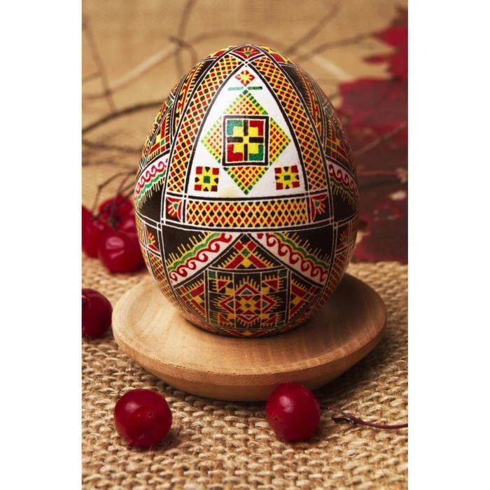 Pyssanka faite la main avec ornement achat vente - Objet decoratif original ...