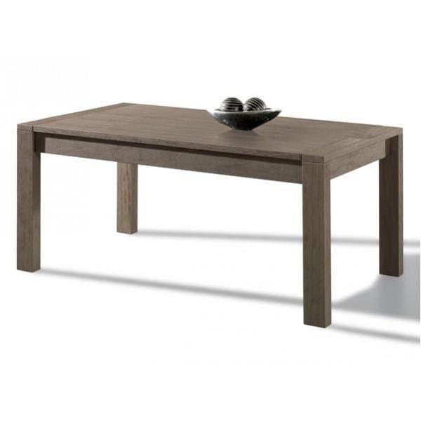 Table en bois id ale pour les repas entre amis achat for Repas pour amis
