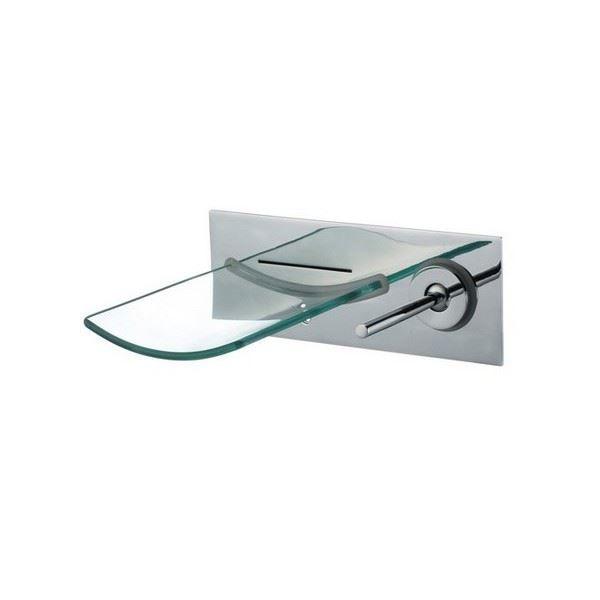 mitigeur mural verre cascade arc achat vente robinetterie sdb mitigeur mural verre cascad. Black Bedroom Furniture Sets. Home Design Ideas