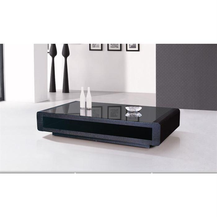 Table basse wenge avec plateau en verre florie achat - Table basse wenge et verre ...