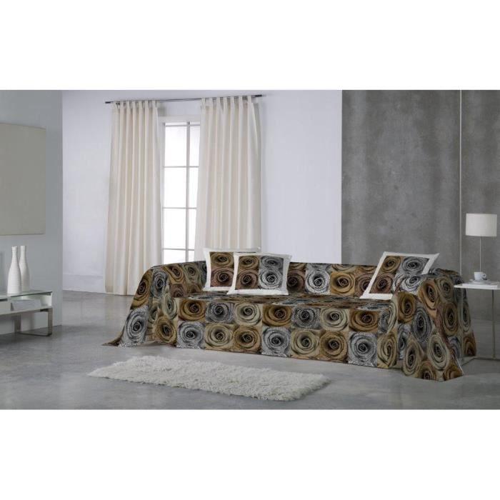euromoda jet de canap couvre lit bombay 180x260 achat vente jet e de lit boutis. Black Bedroom Furniture Sets. Home Design Ideas