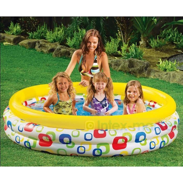 Piscine intex multicolore achat vente piscine piscine for Achat piscine intex