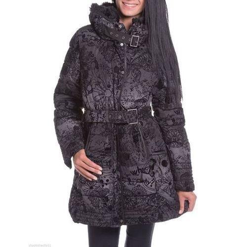 doudoune desigual noir achat vente doudoune soldes d hiver d s le 6 janvier cdiscount. Black Bedroom Furniture Sets. Home Design Ideas