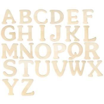 petite lettre en bois 4 cm de a z au choix p achat vente bois graver petite lettre. Black Bedroom Furniture Sets. Home Design Ideas