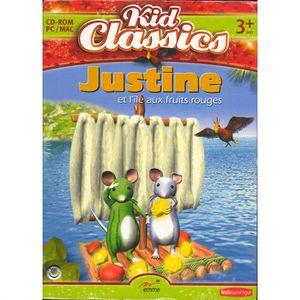 JEU PC Justine Et L'ile Aux Fruits Rouges Jeu PC