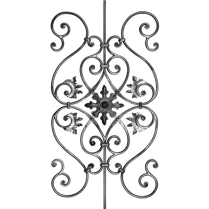 D cor fer forg pour grilles portails fen tres achat for Modele de grillage pour fenetre