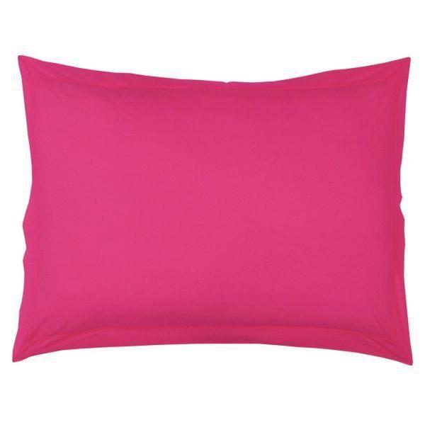 taie d 39 oreiller 50x70 cm 100 coton bois de ros achat vente taie d 39 oreiller cdiscount. Black Bedroom Furniture Sets. Home Design Ideas