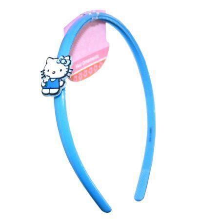 Serre t te hello kitty bleu accessoire cheveux achat - Tete hello kitty ...