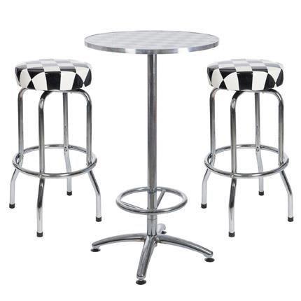 set table ronde de cocktail m tal et 2 tabouret achat vente chemin et set de table. Black Bedroom Furniture Sets. Home Design Ideas