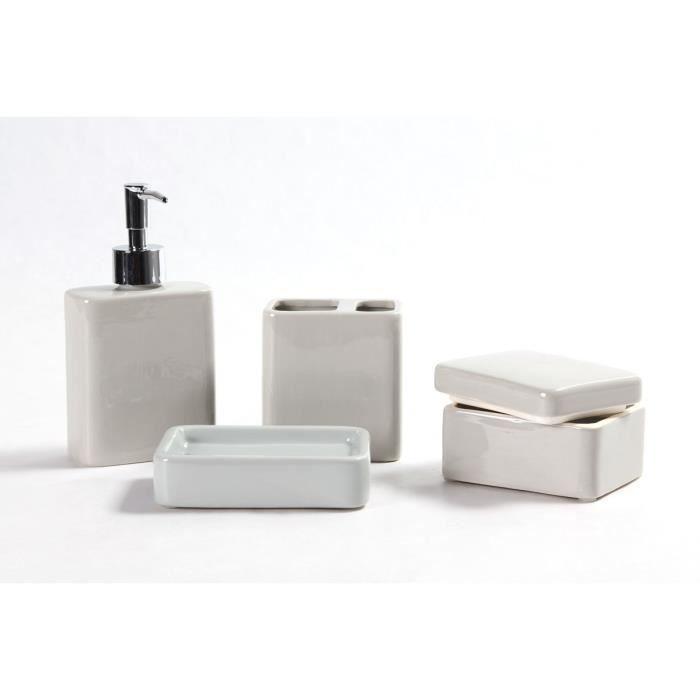 Djerba set accessoires de salle de bain achat vente set accessoires djerb - Vente privee mobilier salle de bain ...