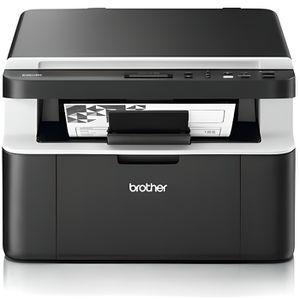 Brother Imprimante Multifonctions DCP-1612W Laser - Noir et Blanc - Wifi - Format A4