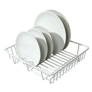 egouttoir vaisselle blanc achat vente egouttoir vaisselle blanc pas cher cdiscount. Black Bedroom Furniture Sets. Home Design Ideas