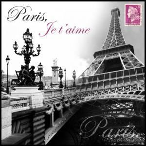 Paris tableau d co box art 25x25cm achat vente tableau for Deco in paris avis