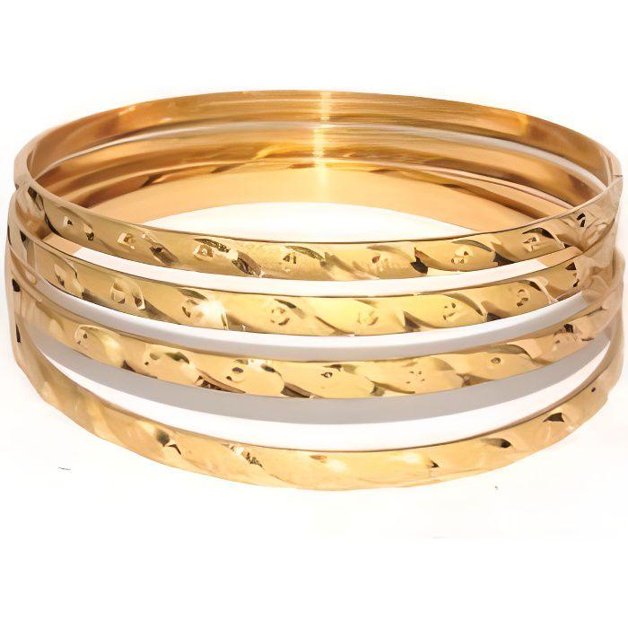Bracelets indien bijoux plaqué or 2.6