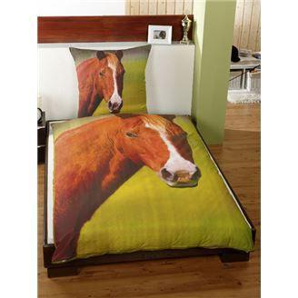 cheval parure couette 1 pers lit 90cm 100 cot achat vente parure de couette cdiscount. Black Bedroom Furniture Sets. Home Design Ideas