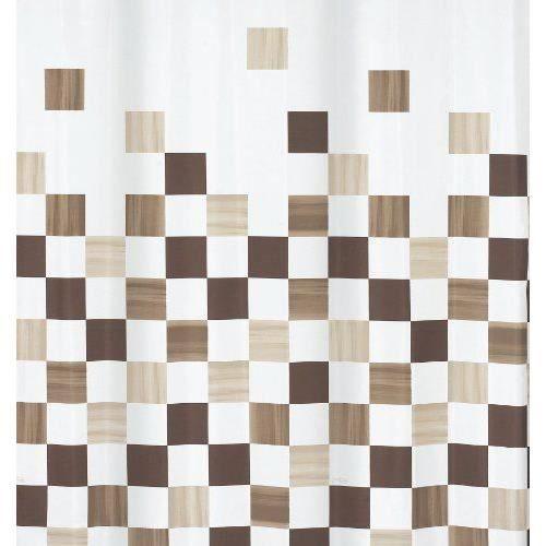 Spirella rideau de douche part brown t achat for Laver rideau de douche plastique machine