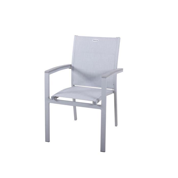 fauteuil de jardin texaline azua pozo gris achat vente fauteuil jardin fauteuil de jardin. Black Bedroom Furniture Sets. Home Design Ideas