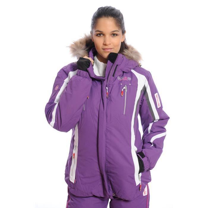 ff5c936e500a3 Blouson ski femme - les bons plans de Micromonde