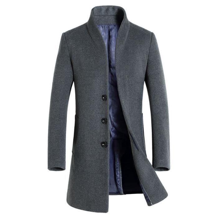 manteau homme en laine de nouvelle collection d automne. Black Bedroom Furniture Sets. Home Design Ideas