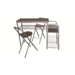Chaise de bar pliantes achat vente chaise de bar pliantes pas cher cdiscount for Table bar et chaise haute