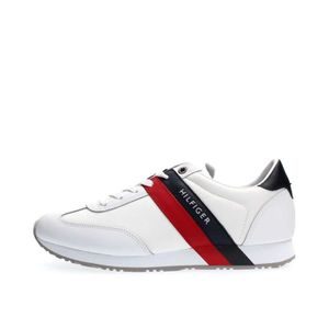 BASKET TOMMY HILFIGER SNEAKERS Homme WHITE
