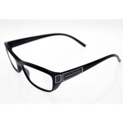 lunettes pre montees loupe avec etui souple er4 bleu achat vente lunettes de lecture. Black Bedroom Furniture Sets. Home Design Ideas