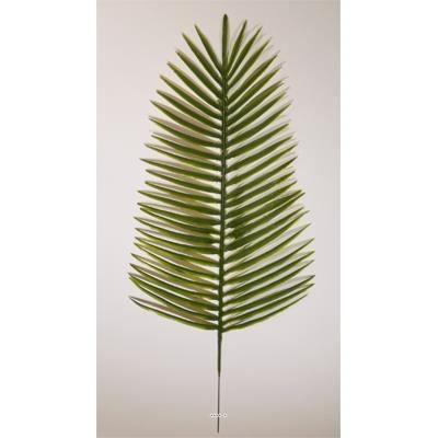 feuille de palmier phoenix h 53 cm plastique po achat vente fleur artificielle plastique. Black Bedroom Furniture Sets. Home Design Ideas