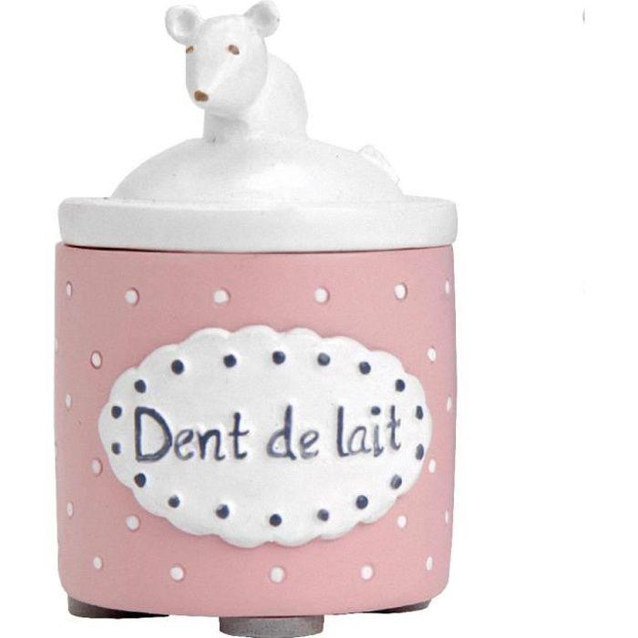 petite boite dents de lait rose achat vente boite. Black Bedroom Furniture Sets. Home Design Ideas