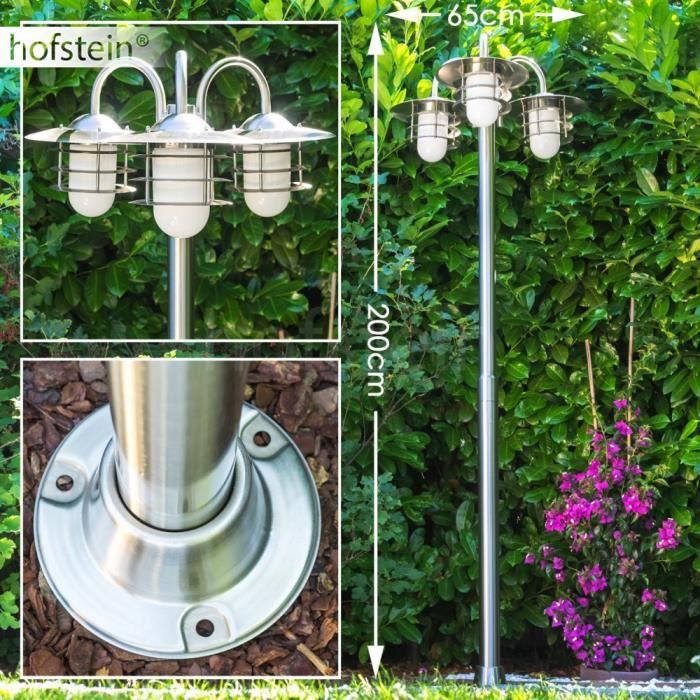 Cand labre ext rieur lampe de sol lampe de jardin achat for Candelabre exterieur