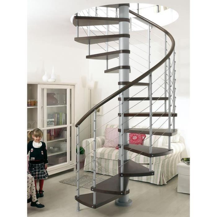Escalier en colima on klo de chez fontanot diametre 160cm hauteur 274 30 - Escalier en bois occasion ...