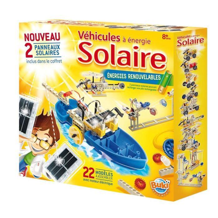 EXPÉRIENCE SCIENTIFIQUE Véhicules Energie Solaire Grand Modèle
