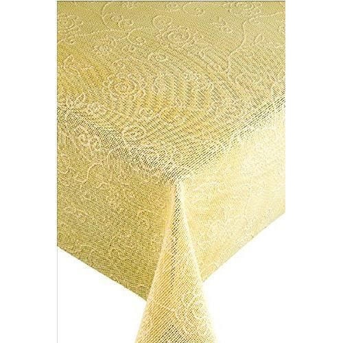 Capri 25834 friedola nappe jardin lavable ovale vinyle beige 160 x 210 cm achat vente nappe - Nappe de jardin ovale ...
