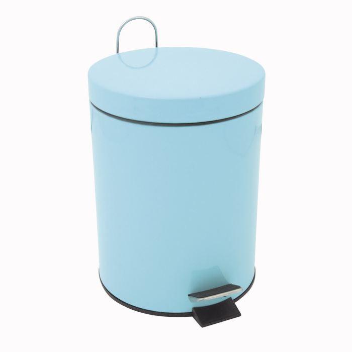 faveco poubelle p dale en m tal 30l achat vente poubelle corbeille faveco poubelle. Black Bedroom Furniture Sets. Home Design Ideas