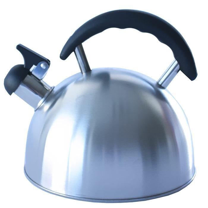 bouilloire en inox sifflante sifflet inox 2 5 litres tous feux achat vente. Black Bedroom Furniture Sets. Home Design Ideas