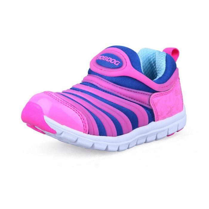 slip on mocassins toddler enfants chaussures fille chaussures de course rose rose tu achat. Black Bedroom Furniture Sets. Home Design Ideas