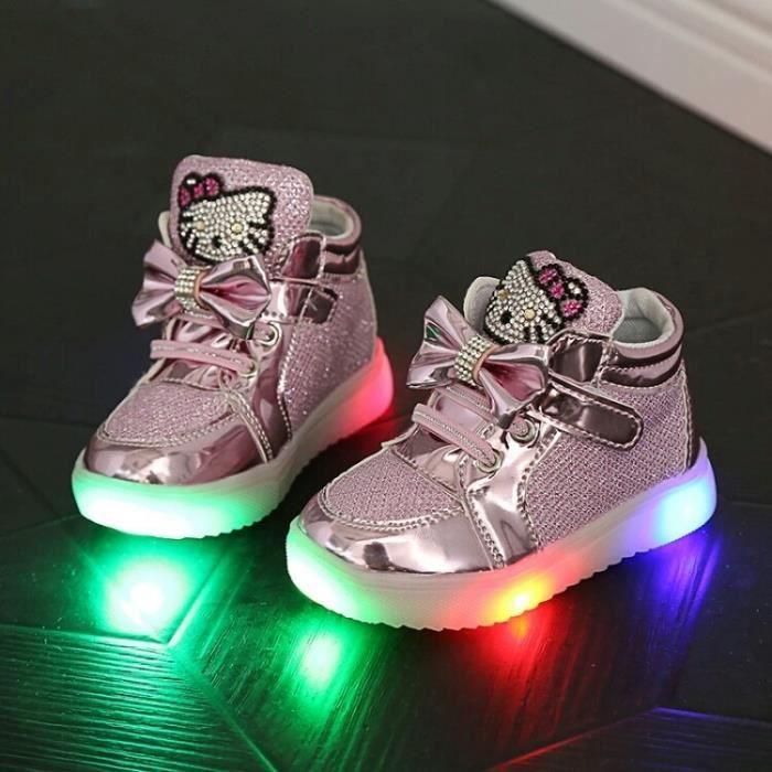 pour chaussure fille avec Nouveau lumiere Printemps USB OZiuPTkX