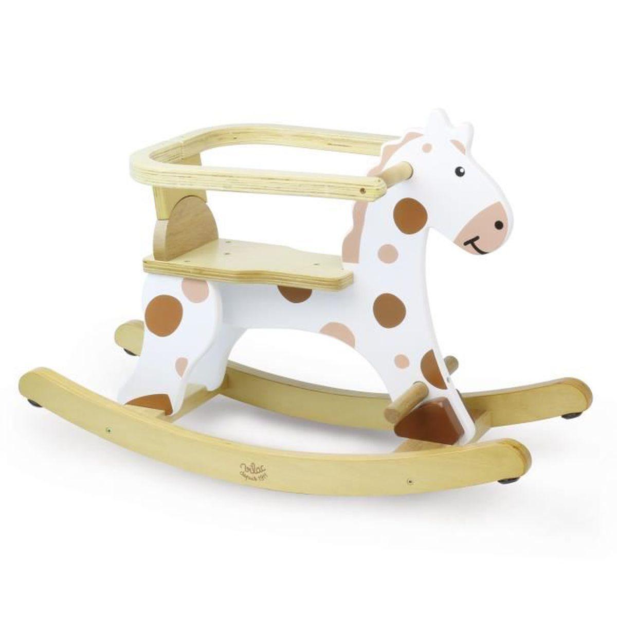 roudoudou cheval bascule en bois pour enfant achat. Black Bedroom Furniture Sets. Home Design Ideas