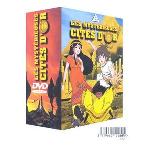 DVD SÉRIE DVD Les mysterieuses cites d' or : l' integrale