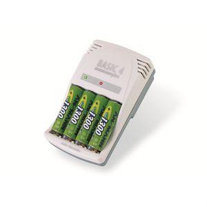 PILES Ansmann Basic 4 Plus Chargeur de piles AA, AAA, V9