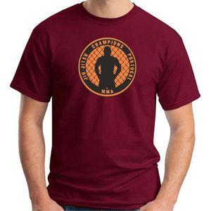 T-SHIRT T-shirt homme Art Martial TAM0190 JIU JITSU tshirt