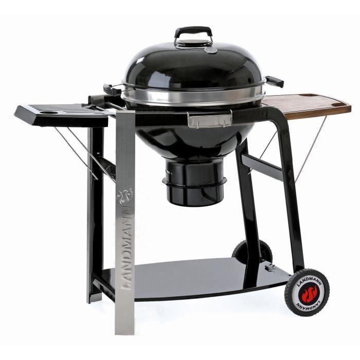 Landmann barbecue charbon black pearl select achat vente barbecue barbecu - Barbecue landmann charbon ...