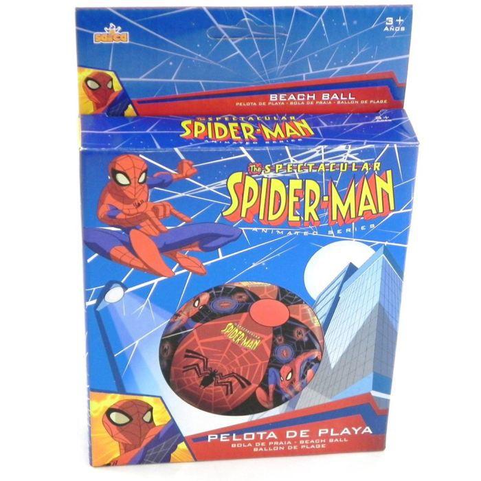 Ballon gonflable spiderman bleu rouge achat vente - Les jeux de spiderman 4 ...