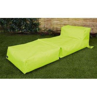 coussin de bain de soleil vert anis achat vente. Black Bedroom Furniture Sets. Home Design Ideas