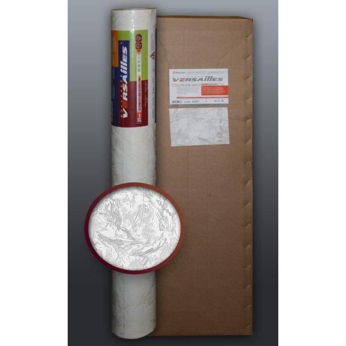 Papier peint non tiss edem 317 60 blanc peindre relief aspect de cr pi 4 roul 106 m2 - Papier a peindre relief ...