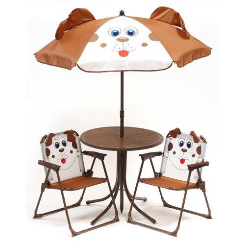 Ensemble salon de camping pour enfant 4 pi ces achat vente meuble de ca - Ensemble jardin enfant ...