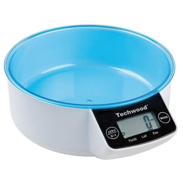 Balance de cuisine digitale 3kg techwood ref tp achat - Balance de cuisine digitale ...