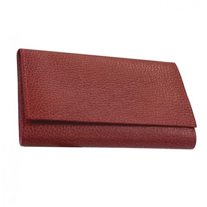 etui papier voiture cuir rouge bordeaux achat vente porte papiers 3700839777346 cdiscount. Black Bedroom Furniture Sets. Home Design Ideas