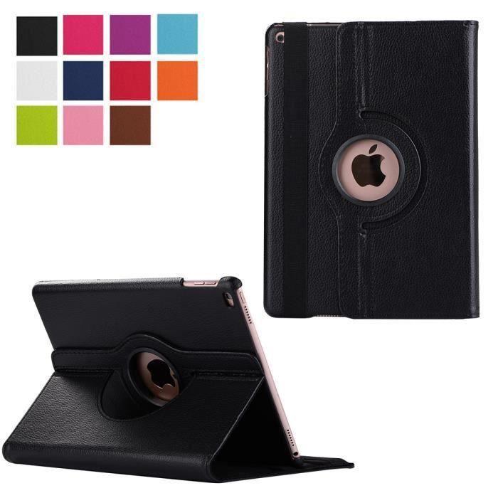 housse ipad air 2 noire rotative etui pochette achat housse tui pas cher avis et. Black Bedroom Furniture Sets. Home Design Ideas
