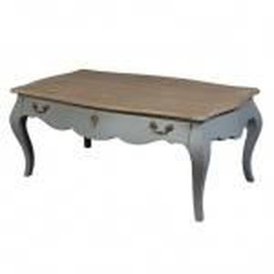 Table basse baroque grise dst14 04147 achat vente table basse table basse - Commode baroque grise ...